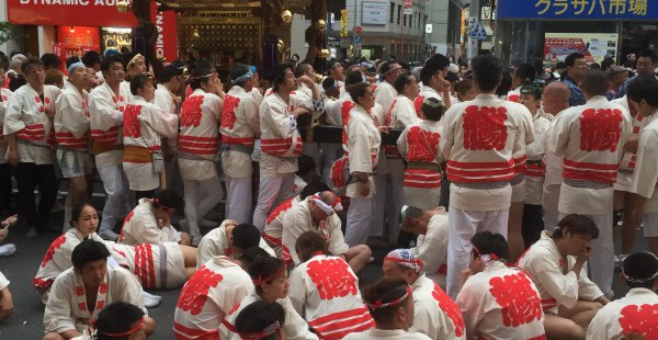 神田祭攻略法!大混雑でも諦めずに最後までまつりを楽しむコツ その1