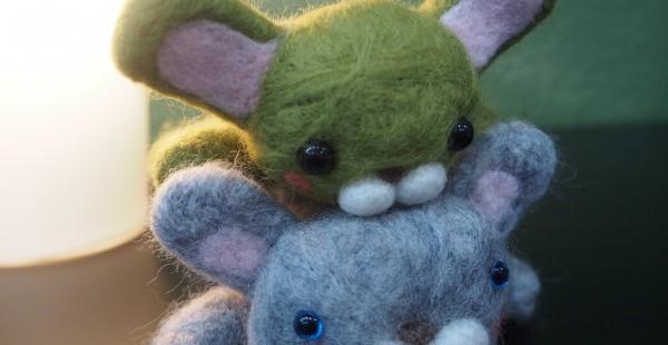 羊毛フェルトワークショップでオリジナルのかわいいマスコットを作ってきた。