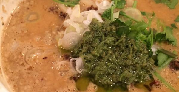 六本木 蒼龍唐玉堂 女性でも入りやすいラーメン店!ぴりりと爽快な青山椒坦々麺が美味だった