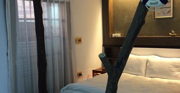 台南ホテル 4デザインインに宿泊 ユニークなインテリアにびっくり