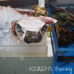 沖縄観光 牧志公設市場 おみやげにもいいね!たくさんの沖縄食材とご対面