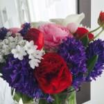 テーマで花を飾る また西麻布の花屋さんに行ってきました。