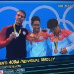 オリンピックってやっぱり盛り上がるよね。